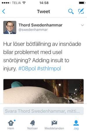 Thord Swedenhammar 14 november 2016